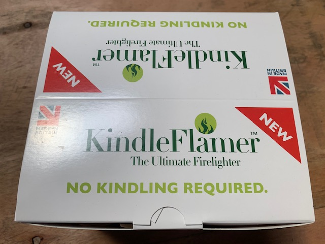 KINDLE FLAMER Ultimate Firelighter 18 Pack No Kindling Required Fire Stove etc